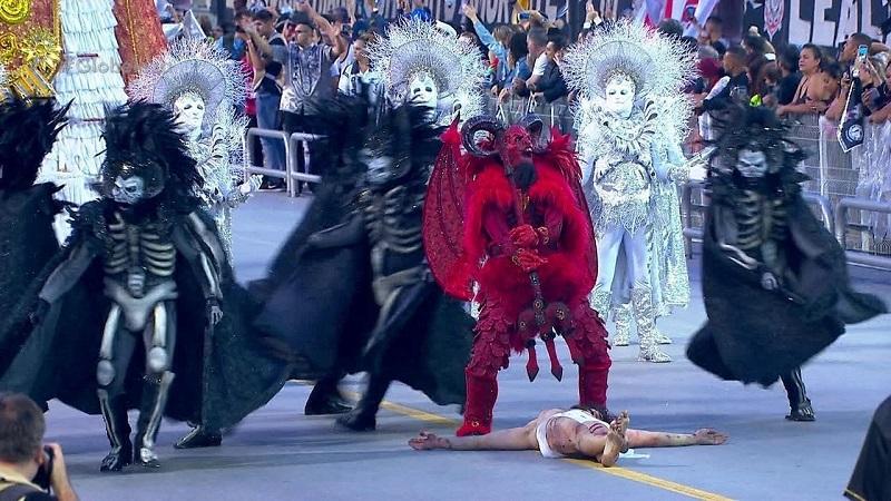 Carnaval de Brasil muestra a Satanás venciendo a Jesús