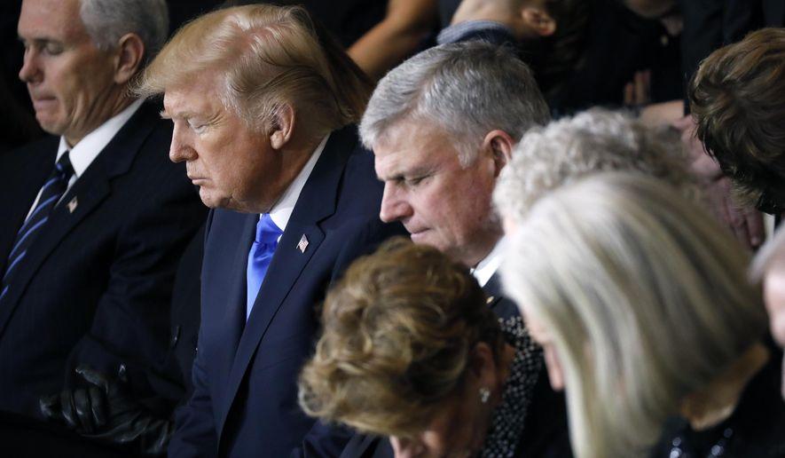 Franklin Graham convoca a todos los cristianos para orar por el presidente Trump el 2 de junio