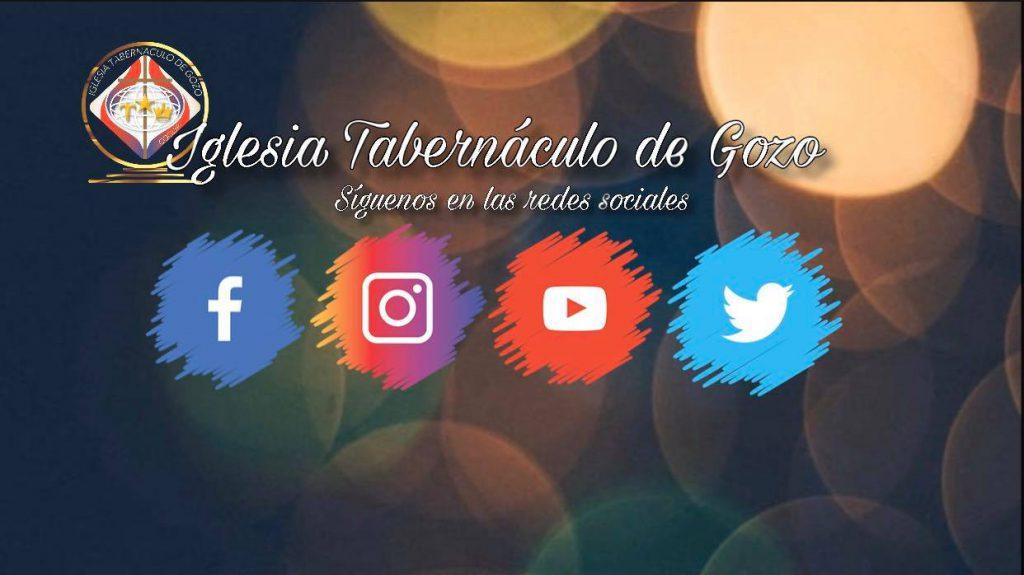 Tabernaculo de Gozo Redes Sociales- Unored