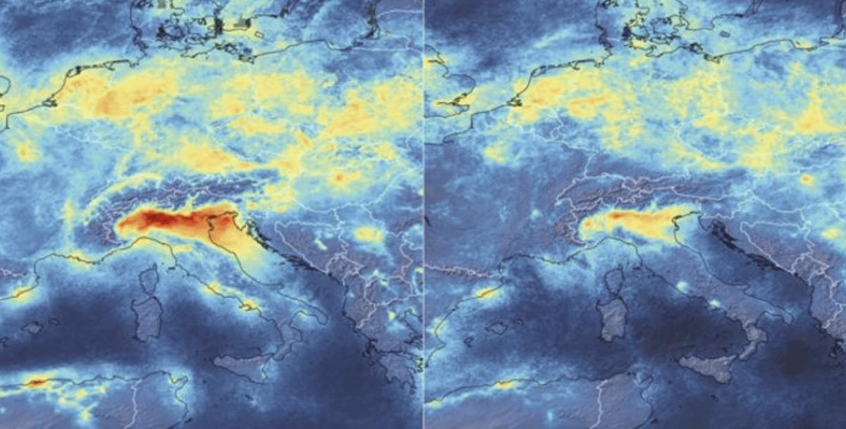 La tierra se tomó un respiro, y baja la contaminación ambiental