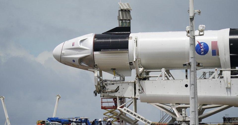 Posponen lanzamiento de Space X y la NASA debido a las condiciones del tiempo