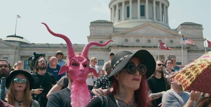 Satanistas convocaron a personas de todo el mundo a marchar por la creación de un «Nuevo Orden Mundial»