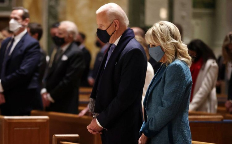 El presidente de Biden más «religiosamente observador» «en medio siglo», marcando el comienzo de un «cristianismo liberal»