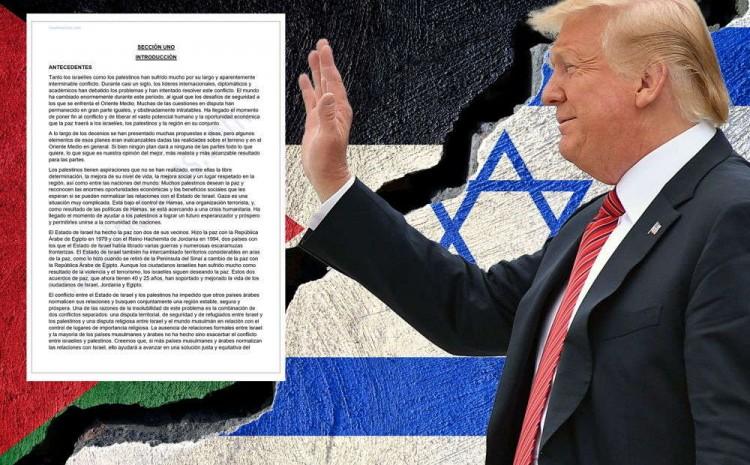 La solución de Trump para Oriente Medio se hundirá en el olvido