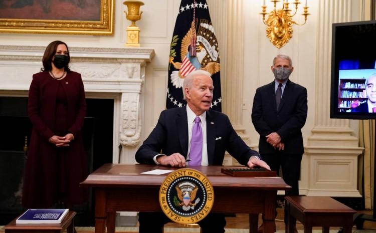 Biden firma orden para que hombres puedan unirse a equipos femeninos