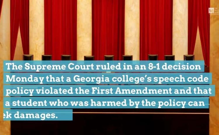 La Corte Suprema apoya a un estudiante cristiano en un caso de libertad de expresión universitaria