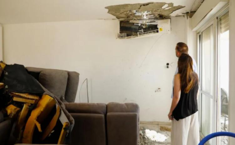 Pareja de pastores en Israel agradece a Dios estar vivos luego de que un cohete de Gaza se estrellara en un sector de la casa